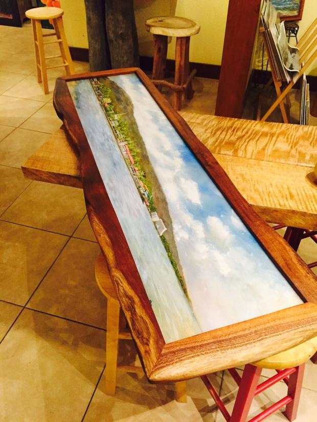 Koa Framed Artwork