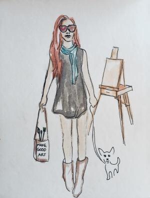 Kira Kamamalu Portrait of an Artist as a Young Woman